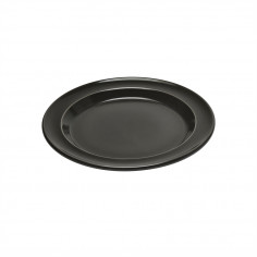 "Керамична десертна чиния ""SALAD/DESSERT PLATE""- цвят черен - EMILE HENRY"