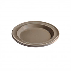 "Керамична десертна чиния ""SALAD/DESSERT PLATE""- цвят сиво-бежов - EMILE HENRY"