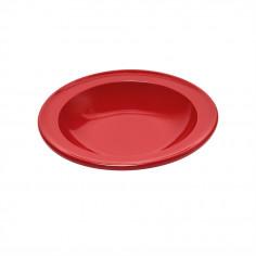 """Керамична дълбока чиния """"SOUP BOWL""""- цвят червен - EMILE HENRY"""