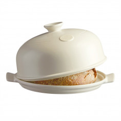 """Керамична форма за печене на хляб """"BAKER CLOCHE"""" - цвят екрю - EMILE HENRY"""