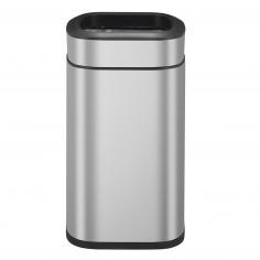 """Отворен кош за отпадъци """"OLI - CUBE""""- 20 литра - мат - EKO"""
