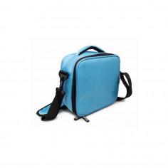 Термоизолираща чанта с два джоба - цвят син - Vin Bouquet