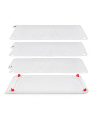 Комплект  дъски за рязане 4 в 1 - цвят бял - Zyliss