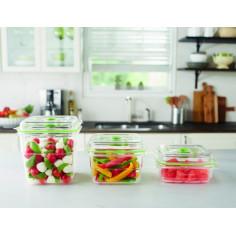 Комплект кутии за съхраняване на продукти FoodSaver 700мл., 1.2л. и 1.8л. (FFC020X-01)