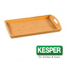 Imagén: Поднос за сервиране от бамбук 48 * 31 * 5,5 см, KESPER Германия
