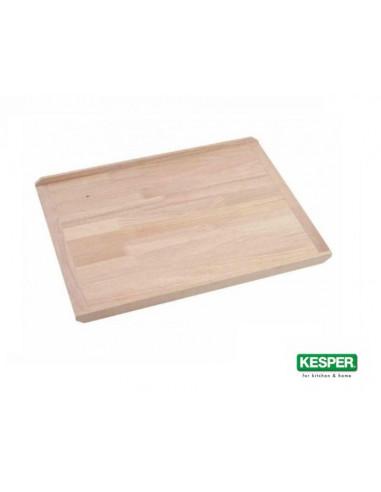 Дървена дъска за месене и разточване, бук, 58 * 38 см с ограничители, KESPER Германия