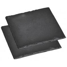 Каменни плочи за сервиране, 2 бр, 20*20 см, KESPER Германия