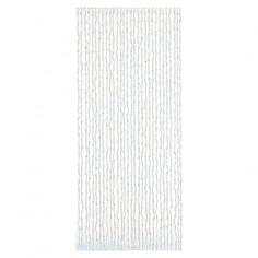 Декоративна завеса за врата с ресни Pekin - 90x200 см, бяла