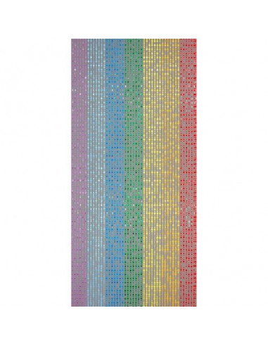 Декоративна завеса за врата с ресни Colorado - 90х200 см, многоцветна