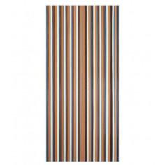 Декоративна завеса за врата с ресни Conacord - 90х200 см, бежово-кафяво
