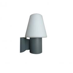 Градински аплик Орфей - 42W, IP65, 250 мм, стъкло/опал