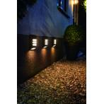 LED външна соларна лампа Luxform Rana Intelligent Solar - ДхШхВ 11x4,9x16, един светодиод, 15 lm