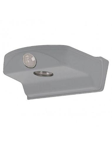 LED лампа  DoorLED - 27 lm, IP44, за монтаж над врата, сива
