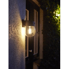 LED външна соларна лампа Luxform Nice Intelligent Solar - ДхШхВ 16x17x24 см, четири светодиода, 10-300 lm