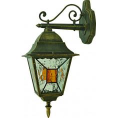 Градинска лампа горен носач Belight - Е27, 60 W, златиста патина