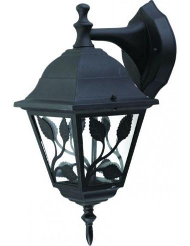 Градинска лампа Haga - 100 W, E27, IP44, за стенен монтаж, горно окачване