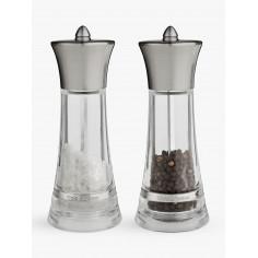"""Подаръчен комплект мелнички за сол и пипер """"MONACO"""" - 17,5 см. - COLE&MASON"""