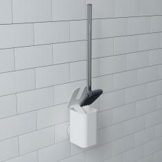 """Imagén: Четка за тоалетна """"FLEX SURE-LOCK"""" - бял цвят - UMBRA"""