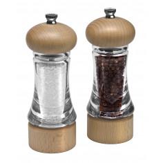 """Imagén: Комплект мелнички за сол и пипер """"BASICS"""" - 16 см. - COLE&MASON"""