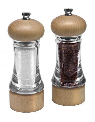 """Комплект мелнички за сол и пипер """"BASICS"""" - 16 см. - COLE&MASON"""