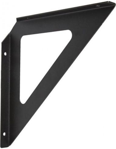 Конзола Triangel - 19x19х1,8 см, метал, черна