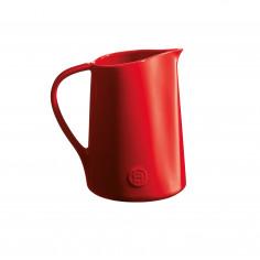 """Керамична кана """"PITCHER""""- цвят червен - emile henry"""