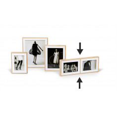 "Двойна рамка за снимки ""FASHION"" - 15х10 см - philippi"