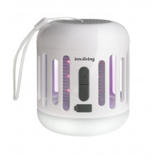 Лампа против комари с акумулаторна батерия - 2 в 1 - innoliving s.p.a