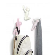 """Комплект от 3 бр закачалки за стена """"BUDDY"""" - 3 цвята - umbra hk limited"""