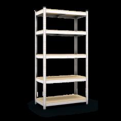 Метален стелаж Standart - 40x90x180 см, с 5 ПДЧ рафта