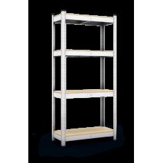 Метален стелаж Standart - 40x90x180 см, с 4 ПДЧ рафта