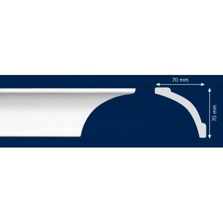 Декоративен  перваз LD - А10 - 70 x 70 mm