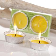 Ароматизирани свещи Citronella - Ø10 см, 2 броя