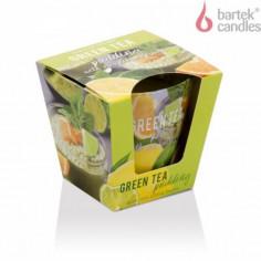 Ароматна свещ в чаша - Зелен чай