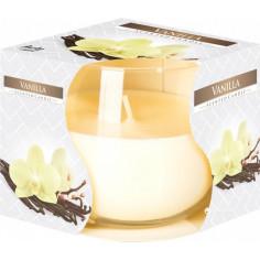 Ароматна свещ в чаша - Ø8 см, височина 7 см, ванилия