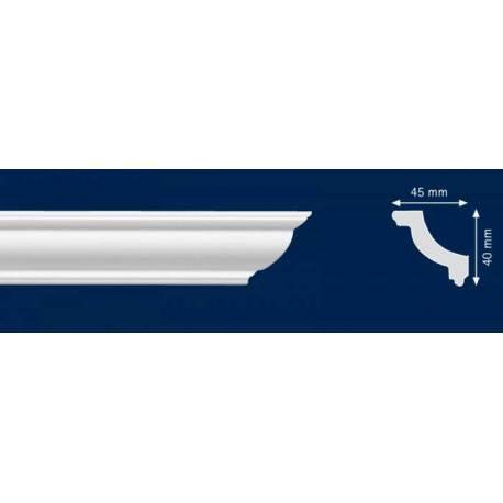 Первази O45  - 40 мм х 45 мм х 2 м