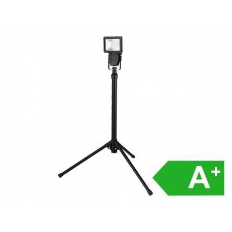 LED прожектор на статив, 10W, 600lm