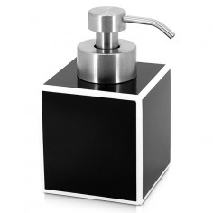 Дозатор за сапун Couture - Голям, полирезин, черен