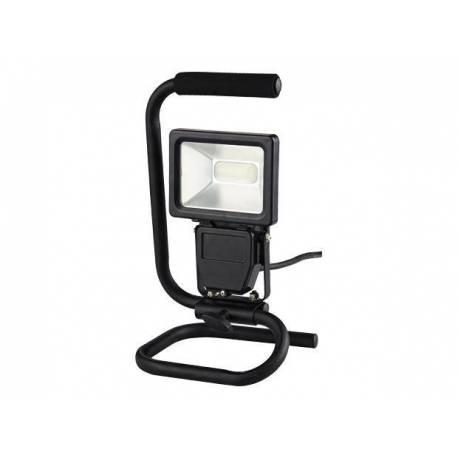 LED прожектор - мобилен, 10W, 600lm