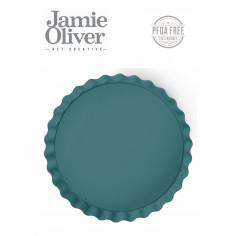 Вълнообразна форма с падащо дъно - Ø 25 см - цвят атлантическо зелено - jamie oliver