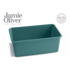 Правоъгълна форма за печене - 19 х 11,5 см - цвят атлантическо зелено - jamie oliver