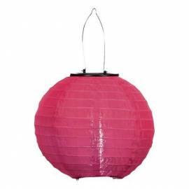 Соларна лампа, розова