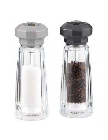 """Комплект мелнички за сол и пипер """"LOWESTOFT"""""""" - 17.5 см. - cole & mason"""