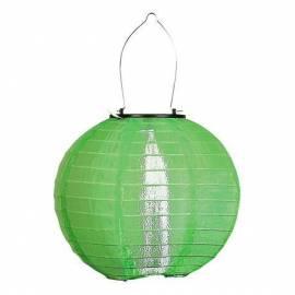 Соларна лампа, зелена