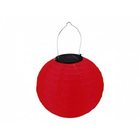 Соларна лампа, червена