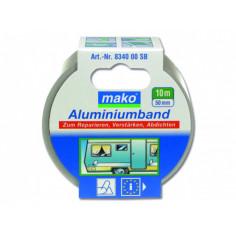Алуминиева лента/ тиксо 50 мм х 10 м, сребриста