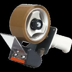 Уред за ръчно опаковане с тиксо Duck Smart - За ленти 50 м, ширина 48 мм