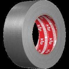 Защитна самозалепваща лента Kip - 50 м, 48 мм, тъкан, полиетилен, сребриста