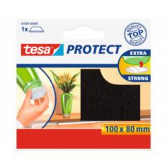 Филц/ подложка против надраскване Tesa, кафяв, 100х80 мм