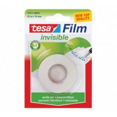 Самозалепваща лента Tesa Invisible, 33 м, 19 мм